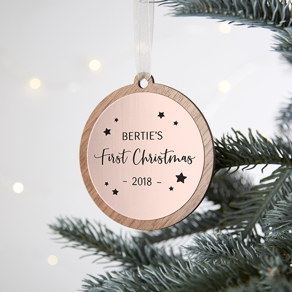 quality design 62f3b 81401 Baby's First Christmas Tree Bauble