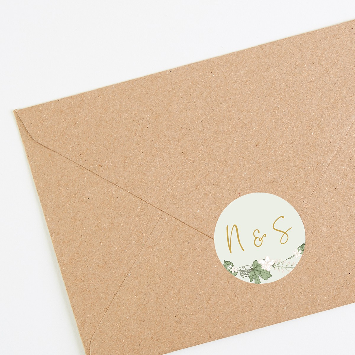 Do You Need An Inner Envelope For Wedding Invitations: White Floral Folded Wedding Invitation