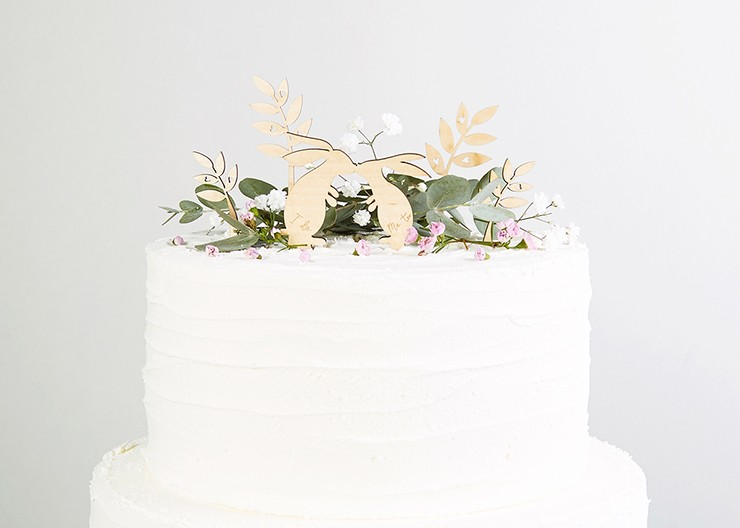 Wedding Cake Toppers Personalised And Rustic Designs Norma Dorothy