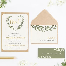 Wedding Invitations Rustic Wedding Invites Norma Dorothy