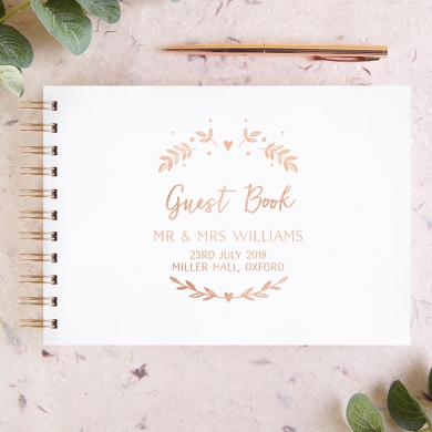 Wedding Guest Books Personalised