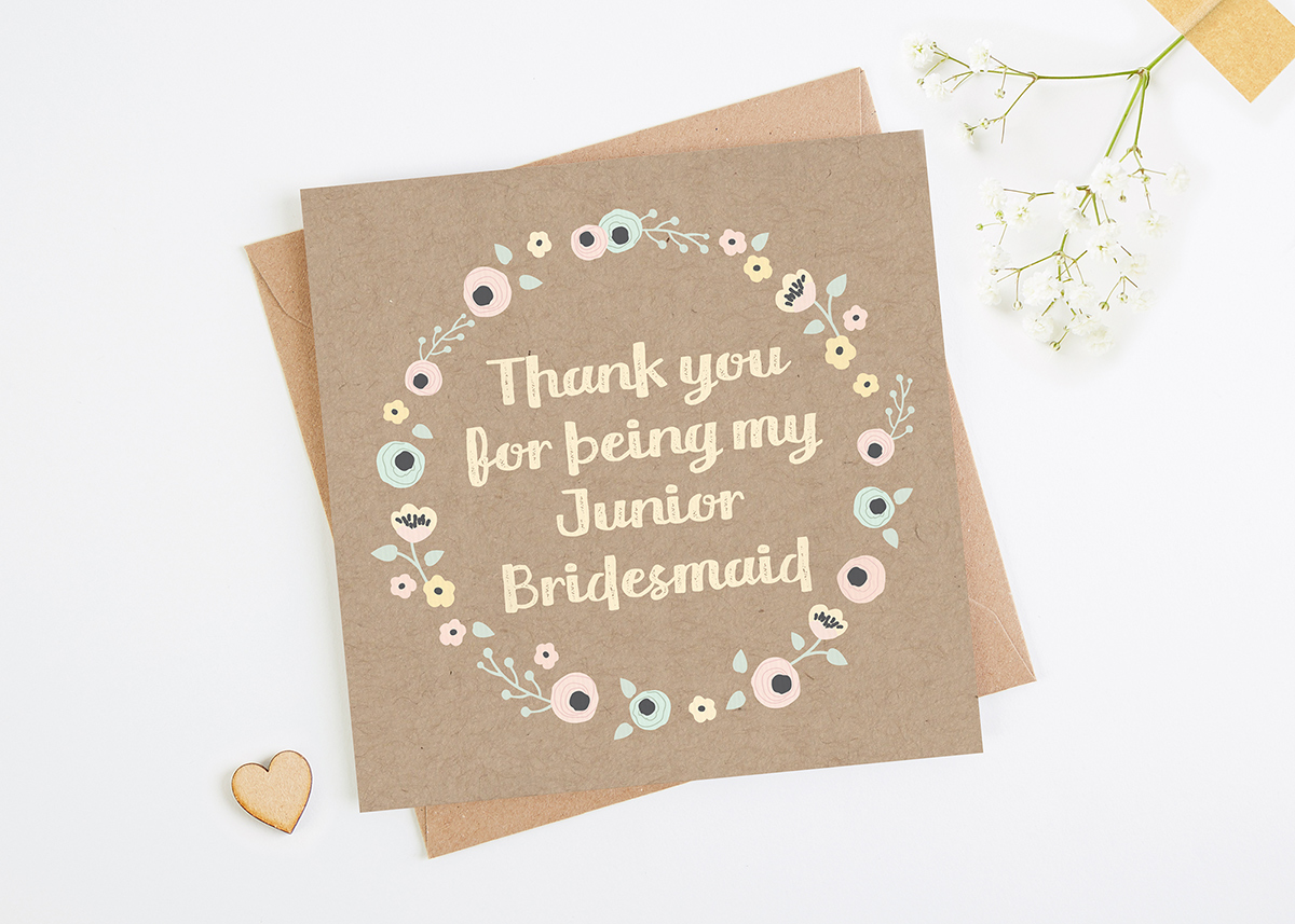Bridesmaid Thank You Cards Norma Dorothy